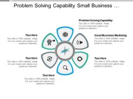 Problem Solving Capability Small Business Marketing Old Management Cpb