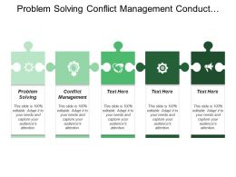 Problem Solving Conflict Management Conduct Mass Media Programme
