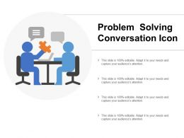 Problem Solving Conversation Icon