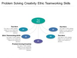 Problem Solving Creativity Ethic Teamworking Skills Experience Skills