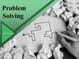 Problem Solving Powerpoint Presentation Slides