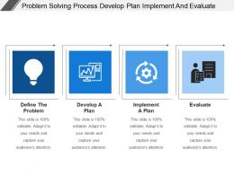 Problem Solving Process Develop Plan Implement And Evaluate