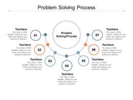 Problem Solving Process Ppt Powerpoint Presentation Slides Cpb