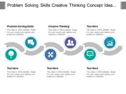 Problem Solving Skills Creative Thinking Concept Idea Generation