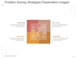 Problem Solving Strategies Presentation Images