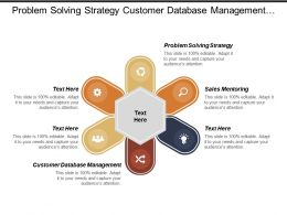 Problem Solving Strategy Customer Database Management Business Acquisition