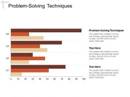 Problem Solving Techniques Ppt Powerpoint Presentation Layouts Slide Cpb