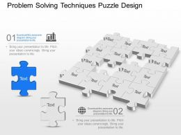 21513990 Style Puzzles Missing 2 Piece Powerpoint Presentation Diagram Infographic Slide