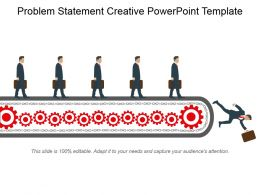 Problem Statement Creative Powerpoint Template