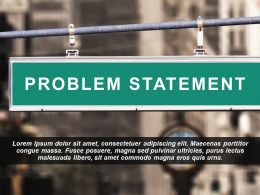 Problem Statement Image Slide Showing Road Signboard