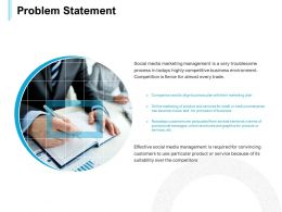 Problem Statement Management Ppt Powerpoint Presentation Templates