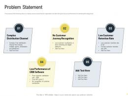 Problem Statement Martech Stack Ppt Powerpoint Presentation Pictures Guidelines