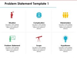 Problem Statement Ppt Model Professional