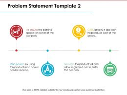 Problem Statement Ppt Model Show