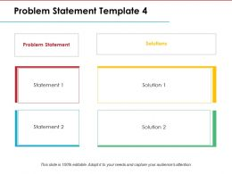 Problem Statement Ppt Model Styles