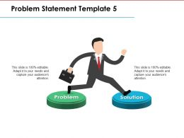 Problem Statement Ppt Model Summary