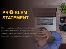 Problem Statement Template Business Challenges