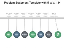 problem_statement_template_with_5_w_and_1_h_ppt_infographics_Slide01