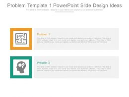Problem Template 1 Powerpoint Slide Design Ideas