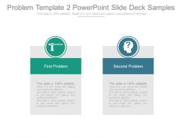 Problem Template 2 Powerpoint Slide Deck Samples