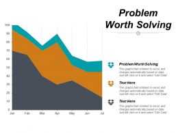 Problem Worth Solving Ppt Powerpoint Presentation Styles Templates Cpb