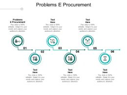 Problems E Procurement Ppt Powerpoint Presentation Icon Tips Cpb