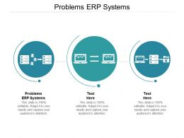 Problems ERP Systems Ppt Powerpoint Presentation Layouts Slide Download Cpb
