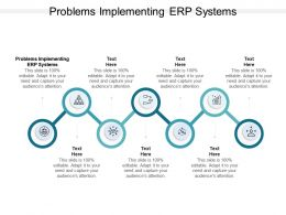 Problems Implementing ERP Systems Ppt Powerpoint Presentation Introduction Cpb