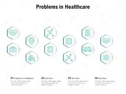 Problems In Healthcare Ppt Powerpoint Presentation Ideas Styles