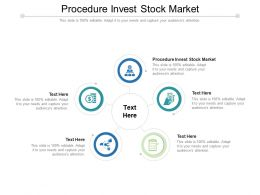 Procedure Invest Stock Market Ppt Powerpoint Presentation Model Graphics Design Cpb