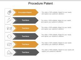 Procedure Patent Ppt Powerpoint Presentation File Slide Cpb