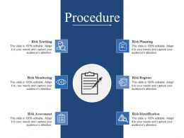 Procedure Presentation Slides