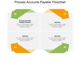 Process Accounts Payable Flowchart Ppt Powerpoint Presentation Summary Graphics Cpb