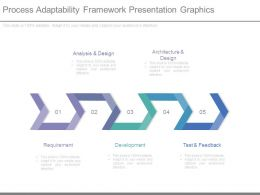 Process Adaptability Framework Presentation Graphics
