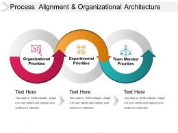 Process Alignment And Organizational Architecture Sample Ppt Presentation