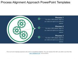 Process Alignment Approach Powerpoint Templates