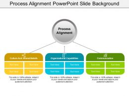 Process Alignment Powerpoint Slide Background