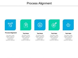 Process Alignment Ppt Powerpoint Presentation Infographics Cpb