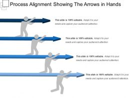 Process Alignment Showing The Arrows In Hands