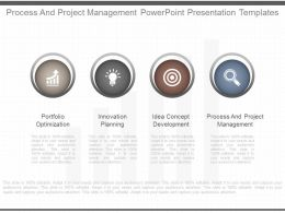 Process And Project Management Powerpoint Presentation Templates