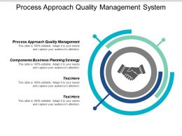 Process Approach Quality Management System Components Business Planning Strategy Cpb