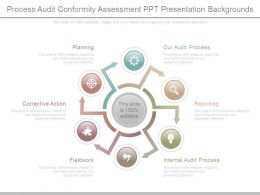 Process Audit Conformity Assessment Ppt Presentation Backgrounds