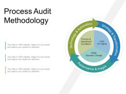 Process Audit Methodology Powerpoint Templates
