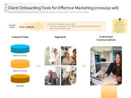 Process Automation Client Onboarding Tools For Effective Marketing Cross Up Sell Ppt Model