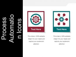 Process Automation Icons Powerpoint Slides