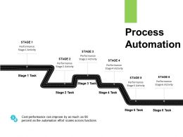 Process Automation Performance Ppt Powerpoint Presentation Show