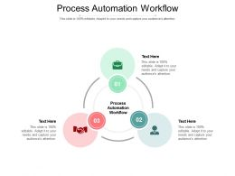 Process Automation Workflow Ppt Powerpoint Presentation Outline Show Cpb
