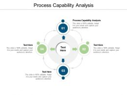 Process Capability Analysis Ppt Powerpoint Presentation Model Vector Cpb