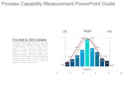 Process Capability Measurement Powerpoint Guide