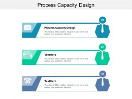 Process Capacity Design Ppt Powerpoint Presentation Pictures Shapes Cpb